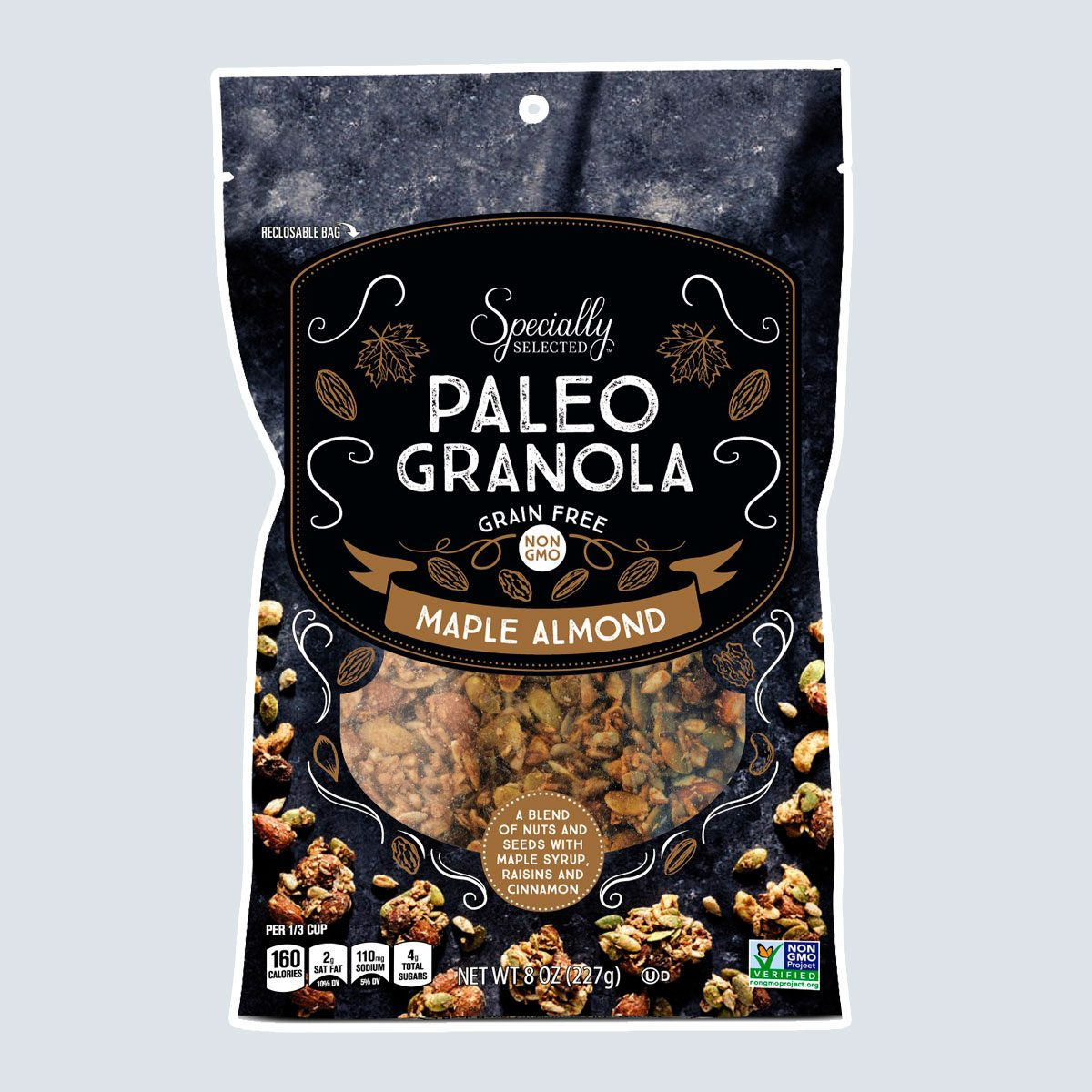 Paleo Granola Maple Almond