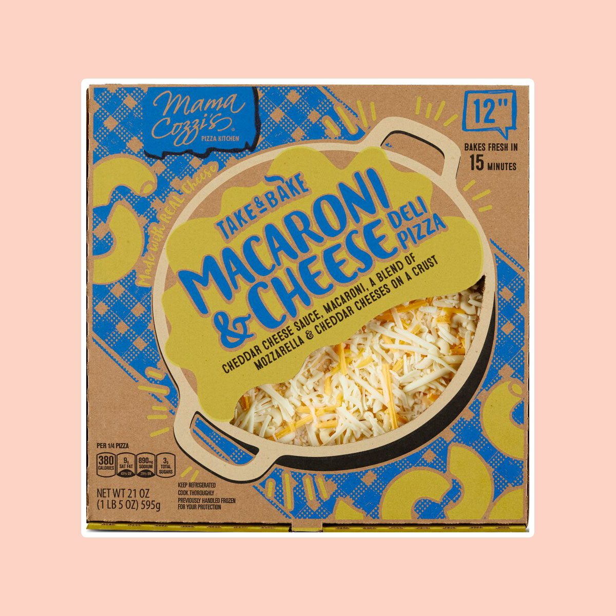 Pizza 12in Macaroni And Cheese