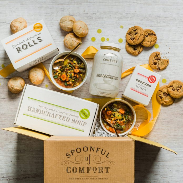 Spoonful Of Comfort care package ideas