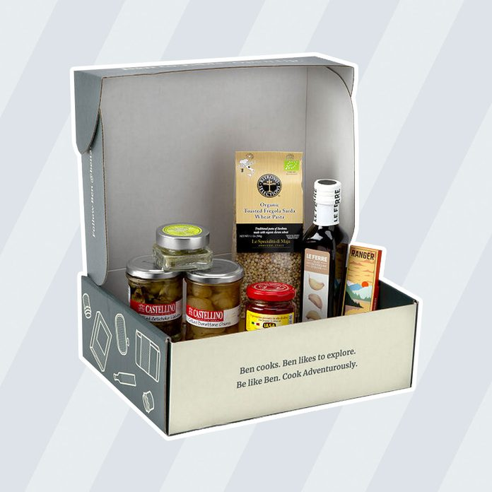 care package ideas Taste Of Italy Pantry Box