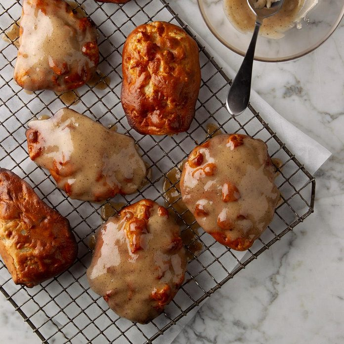 Air-Fryer Apple Fritters