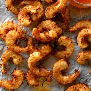 Air-Fryer Coconut Shrimp