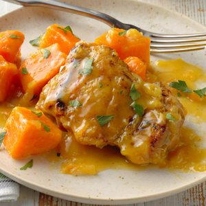 Curried Chicken and Sweet Potatoes