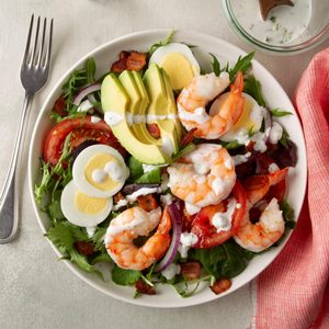 Shrimp Cobb Salad