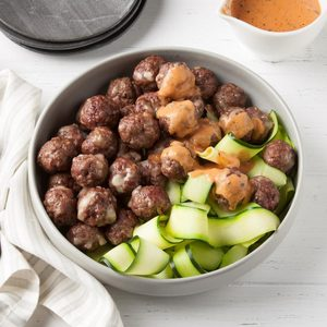 Air-Fryer Keto Meatballs