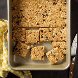 No-Bake Peanut Butter Energy Bars