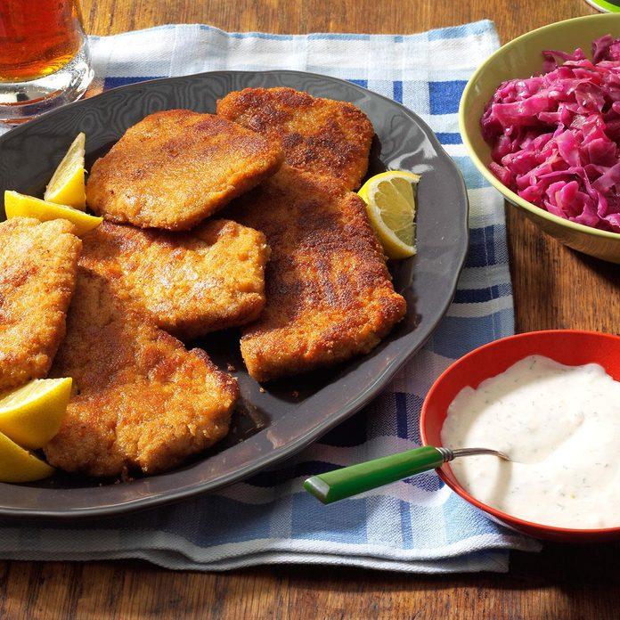 Air-Fryer Pork Schnitzel