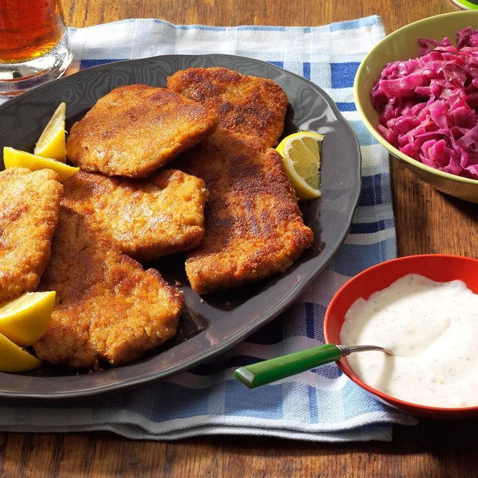 Pork Schnitzel With Dill Sauce Exps6957 Th143193c04 22 1b Rms Basedon 3