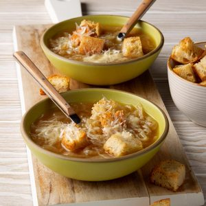 Pressure-Cooker French Onion Soup