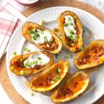 Multi-Cooker Bacon and Cheddar Potato Skins