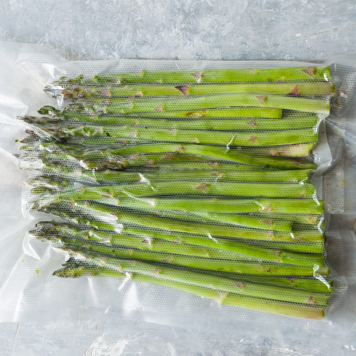 Packaged asparagus