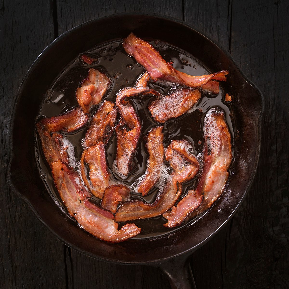 Bacon Frying -Photographed on Hasselblad H3D-39mb Camera