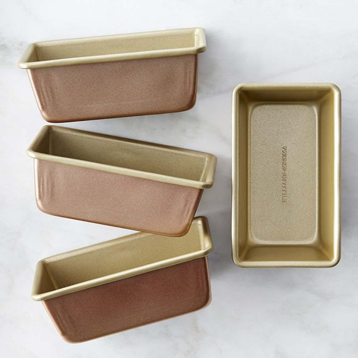 Williams Sonoma Copper Goldtouch® Nonstick Mini Loaf Pans, Set of 4