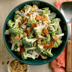 Broccoli Almond Salad