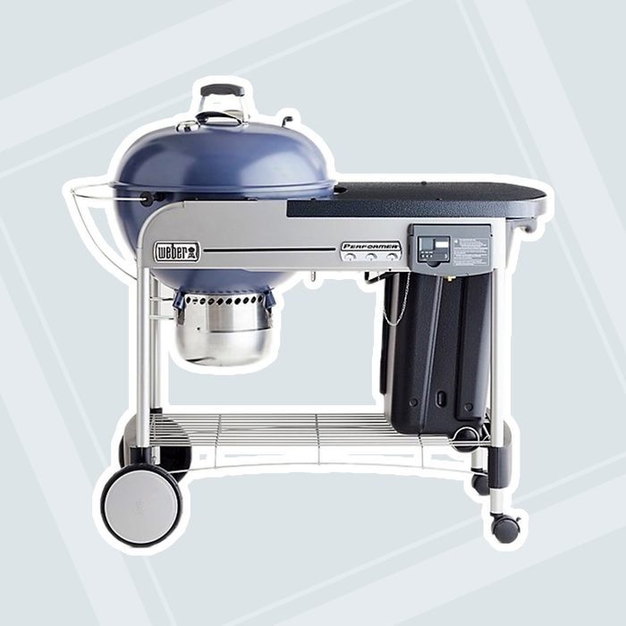 Weber ® Slate Blue Performer Deluxe Charcoal Grill