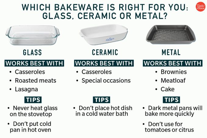 Which Bakeware Is Right For You Metal Glass Or Ceramic Feature 1200x800