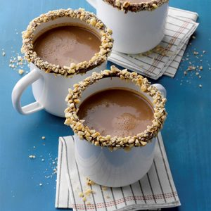 Hazelnut Mocha Hot Chocolate
