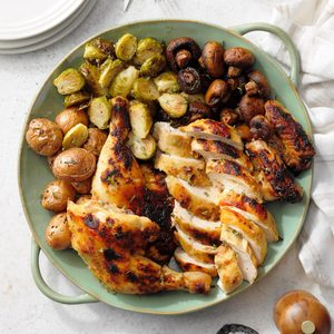 Miso Butter Roasted Chicken