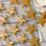 Peanut Butter Cinnamon Snap Cookies