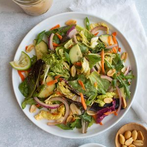 Thai Salad with Peanut Dressing