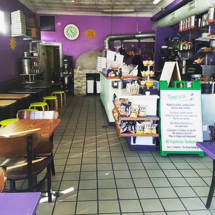 Best vegetarian restaurant in Virginia Fresca on Addison