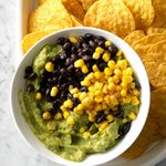 Black Bean and Corn Guacamole