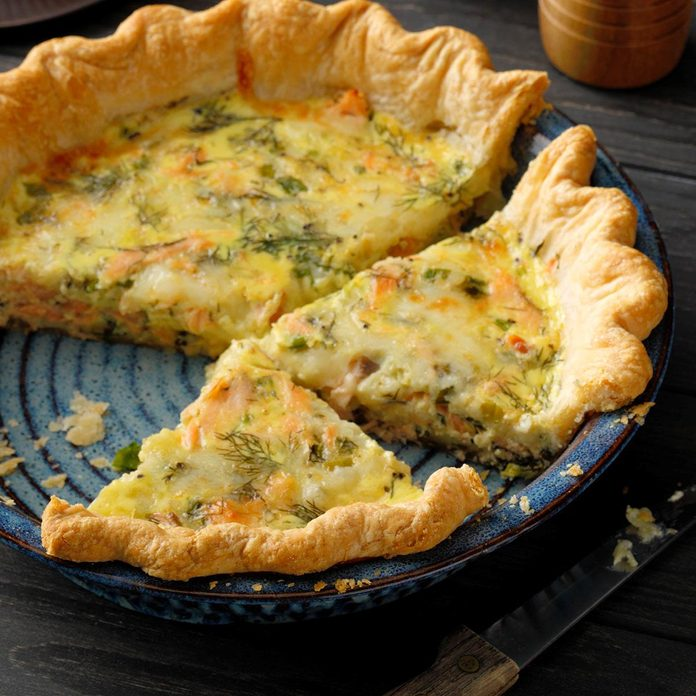 Finnish Salmon and Dill Pie