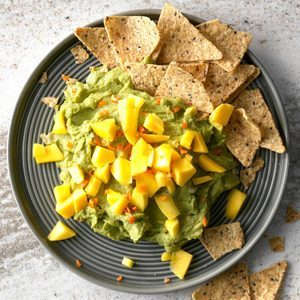 Habanero and Mango Guacamole