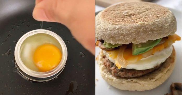mason jar lid breakfast hack_social