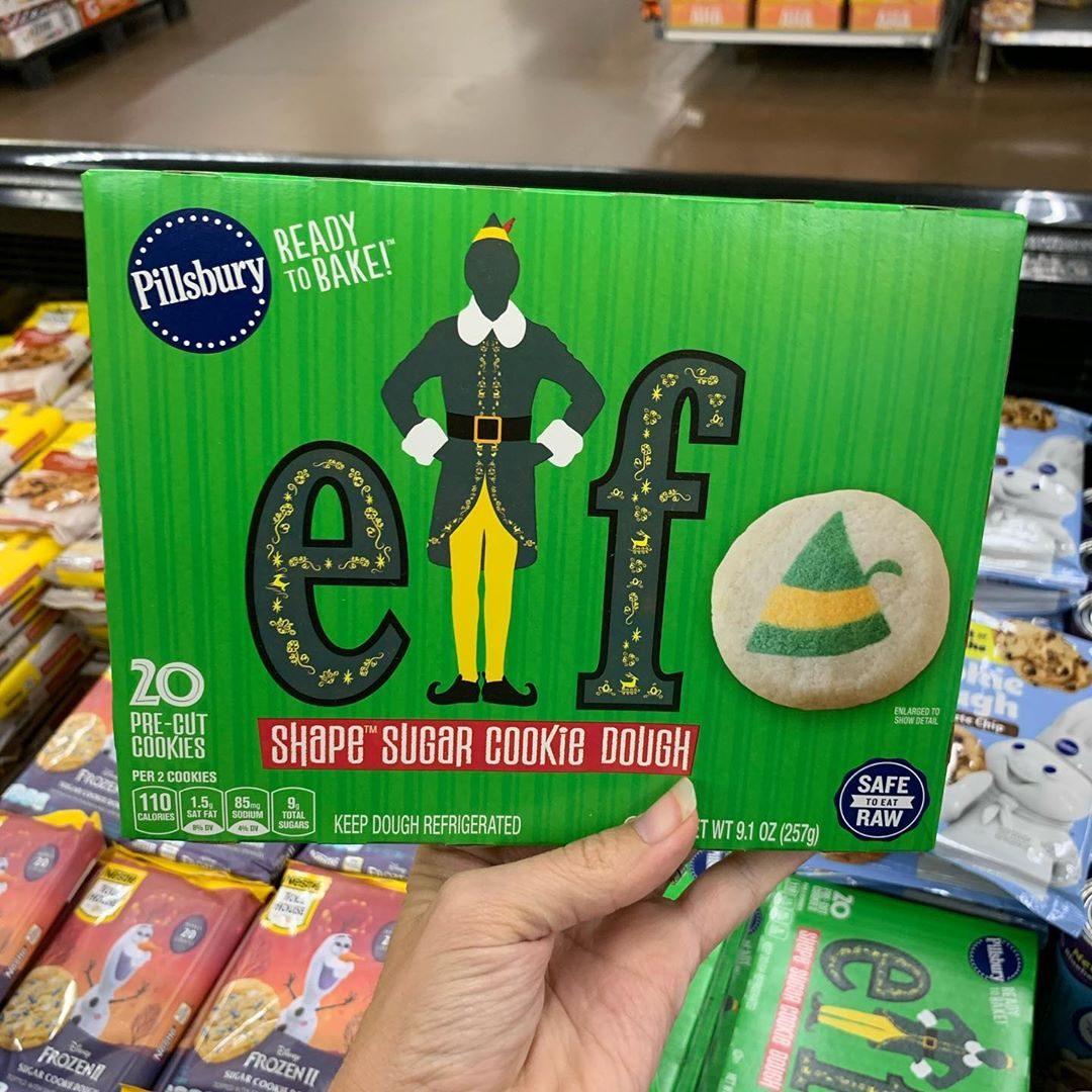 Pillsbury Elf themed sugar cookies
