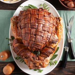 Bacon-Wrapped Turkey