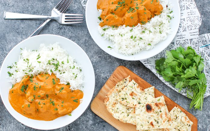 Butter Chicken Horizontal