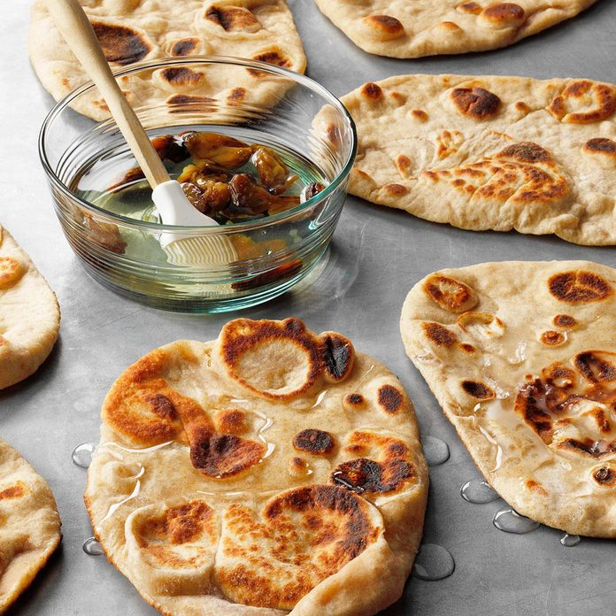 Coconut Garlic Naan