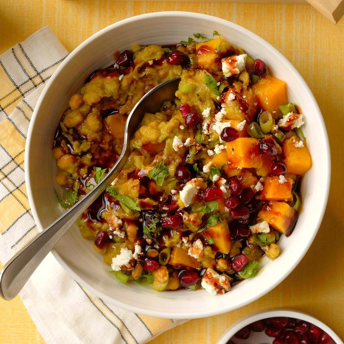 Curry Pomegranate Protein Bowl
