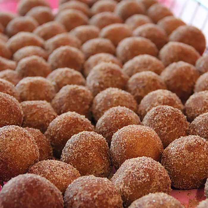 Cinnamon Munchkins from Dunkin Donuts
