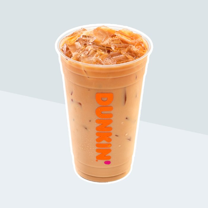 Iced Coffee from Dunkin' Donuts