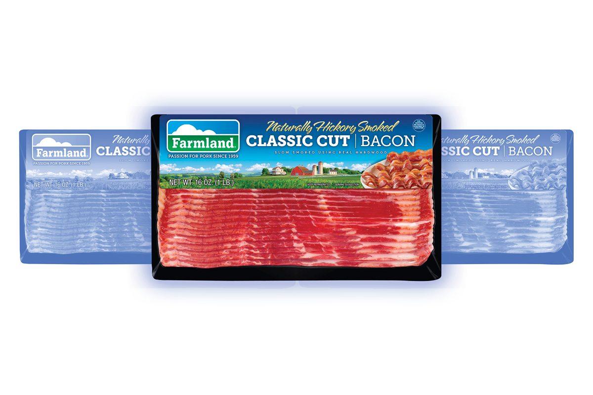 Farmland Naturally Hickory Smoked Classic Cut Bacon, 16 oz
