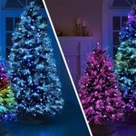 This GORGEOUS Christmas Tree Puts on a Light Show in Your Living Room