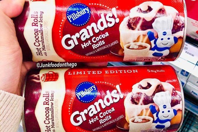 Pillsbury Grands Hot Cocoa Rolls