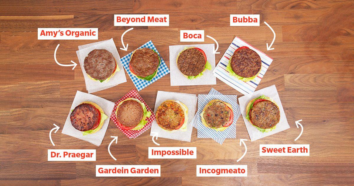 Test Kitchen Preferred Plant Based Burger social