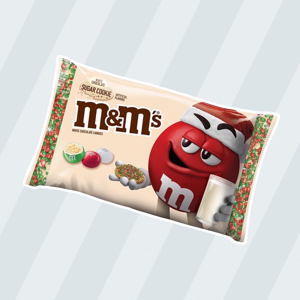 M&M'S WHITE CHOCOLATE SUGAR COOKIE CANDY, 7.4 OZ BAG