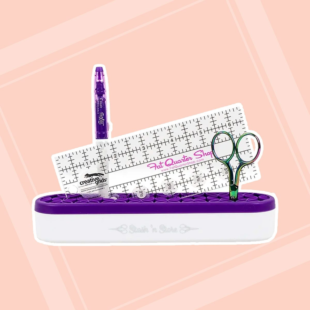 Purple Oh...Sew! Organized Stash 'n Store