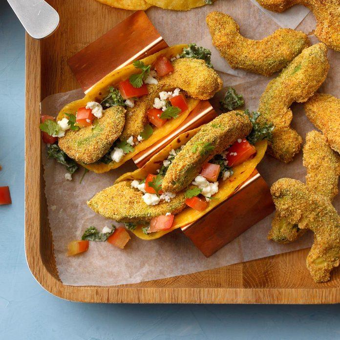 Air-Fryer Fried Avocado Tacos
