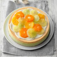 Our April Baking Challenge Is Here: Three-Layer Citrus Cheesecake