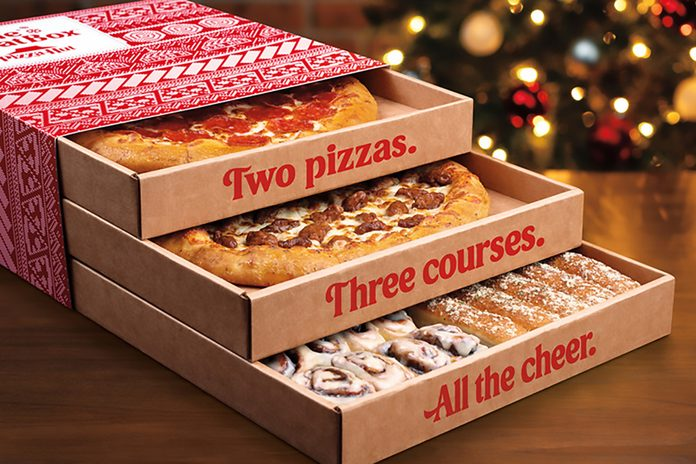 Pizza Hut triple threat box is back for the holidays