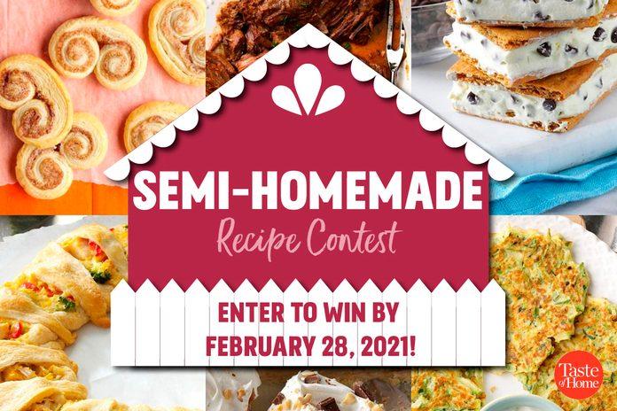 Semi-Homemade recipe contest