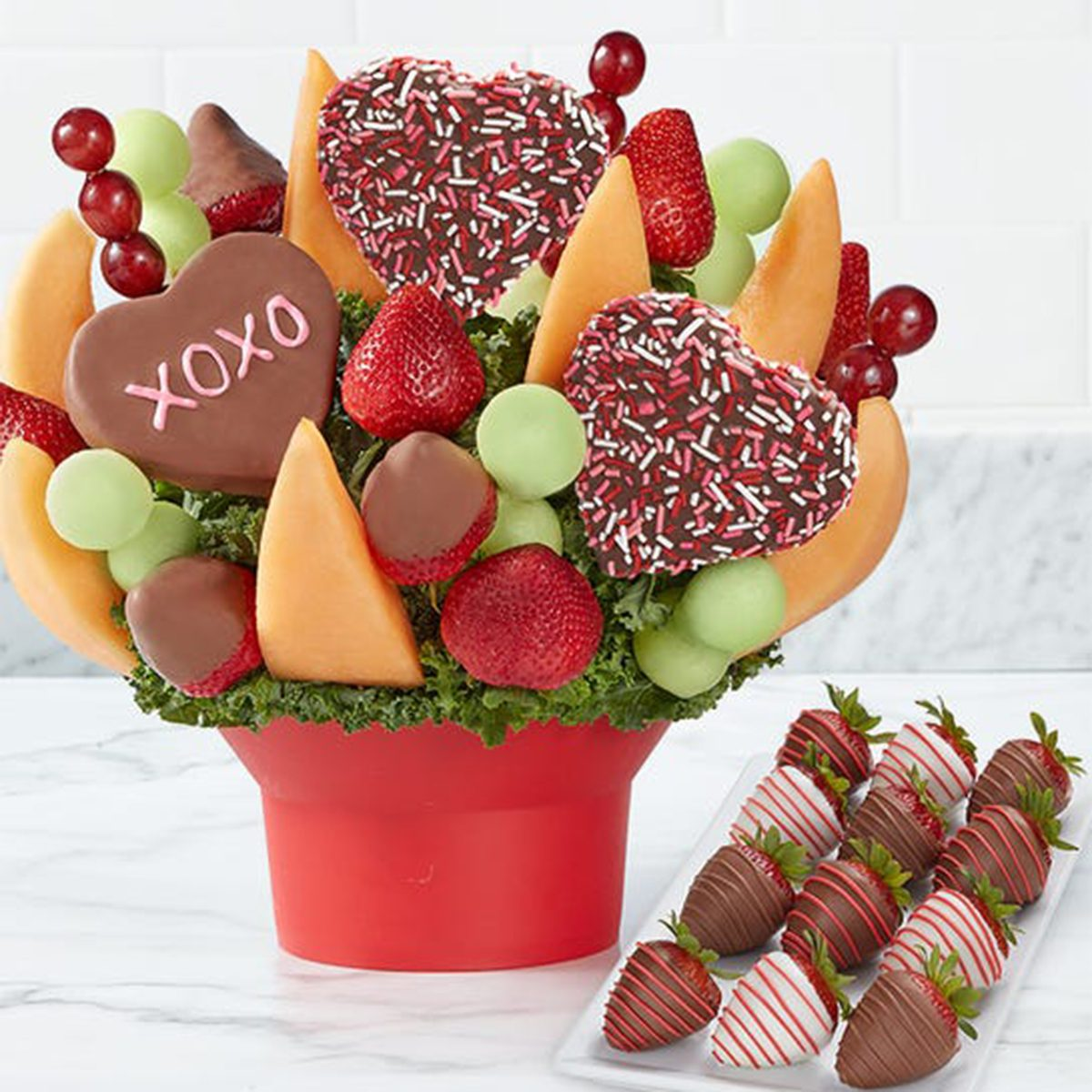 Fruit Bouquets Hearts And Kisses