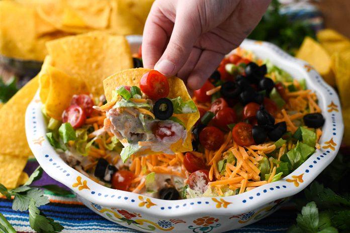 how to make taco dip