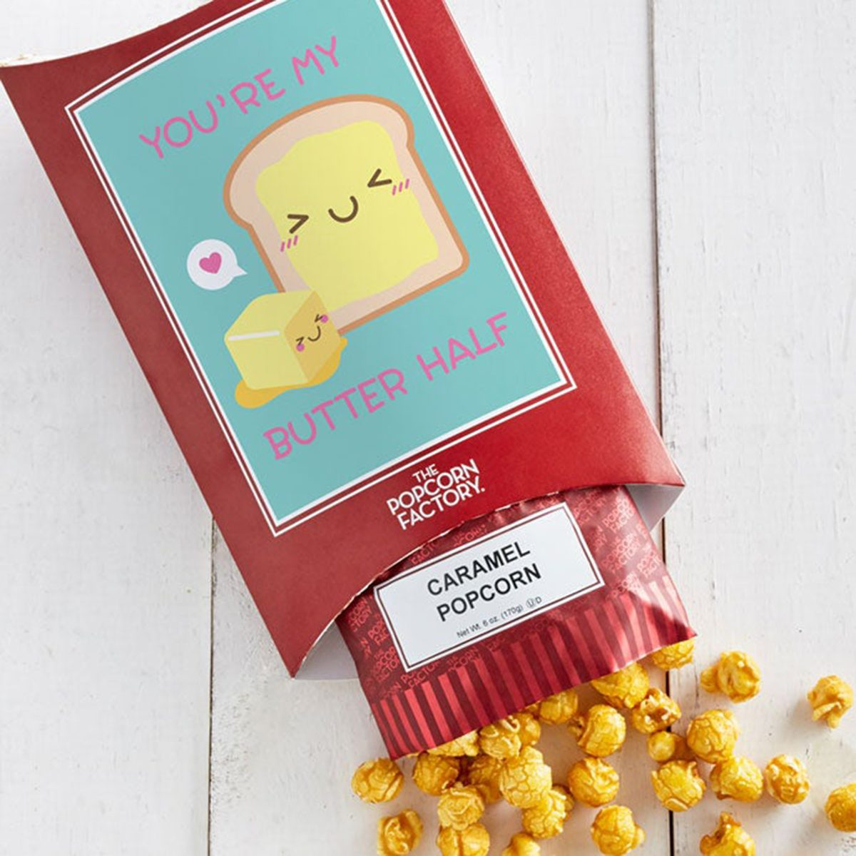 edible valentine's gifts The Popcorn Factory Cards With Pop
