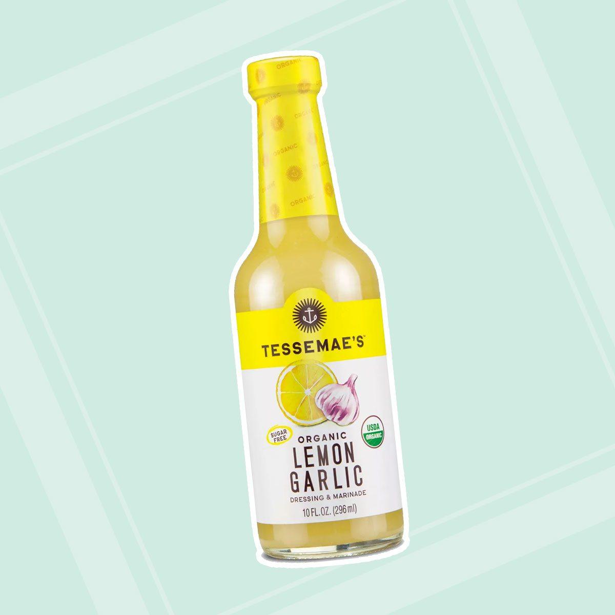 Vegan Lemon Garlic Salad Dressing